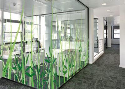 Film décoratif  adhésif personnalisable Bamboo